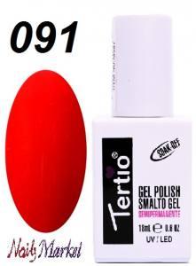Гель-лак Tertio Classico 18мл №91 красно-малиновый
