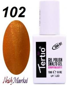 Гель-лак Tertio Classico 18мл №102 плотное золото