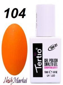 Гель-лак Tertio Classico 18мл №104 оранжевый с шиммером