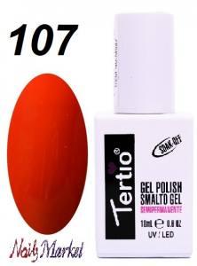 Гель-лак Tertio Classico 18мл №107 красный кирпичный