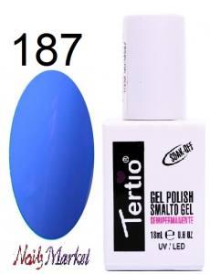 Гель-лак Tertio Classico 18мл №187 сине-сиреневый