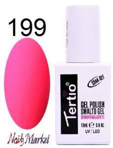 Гель-лак Tertio Classico 18мл №199 яркий розовый