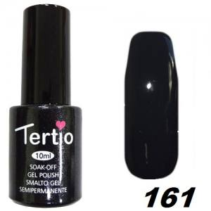 Гель-лак Tertio Темно-зелено-серый №161 10 мл