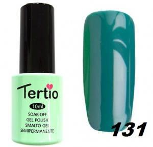 Гель-лак Tertio Сине-зеленый мятный №131 10 мл
