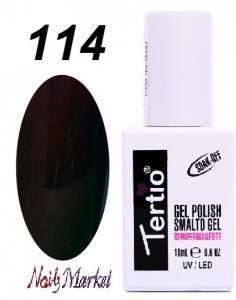 Гель-лак Tertio Classico 18мл №114 вишнево-шоколадный