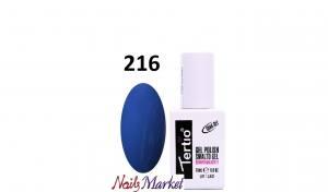 Гель-лак Tertio Classico 18мл №216 насыщенный синий