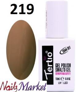 Гель-лак Tertio Classico 18мл №219 коричневый