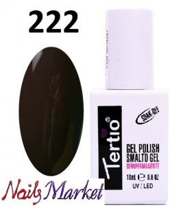 Гель-лак Tertio Classico 18мл №222 темный шоколад