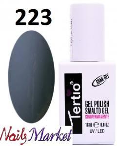 Гель-лак Tertio Classico 18мл №223 серый