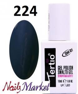Гель-лак Tertio Classico 18мл №224 сине-серый