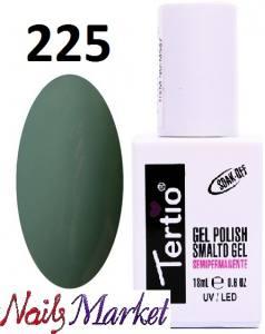 Гель-лак Tertio Classico 18мл №225 оливково-зеленый