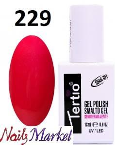Гель-лак Tertio Classico 18мл №229 малиново-красный