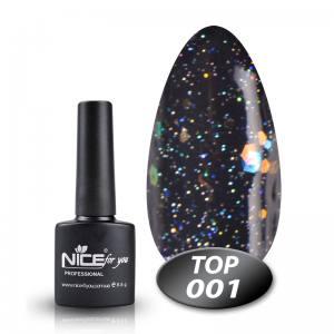 Топ с глиттером Glitter Top Nice 8.5g 001