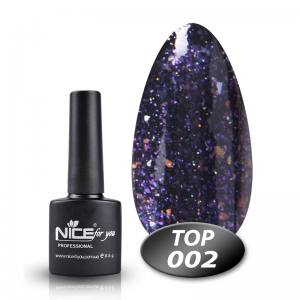 Топ с глиттером Glitter Top Nice 8.5g 002