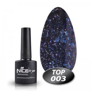 Топ с глиттером Glitter Top Nice 8.5g 003