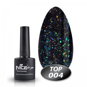 Топ с глиттером Glitter Top Nice 8.5g 004