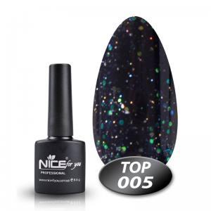Топ с глиттером Glitter Top Nice 8.5g 005