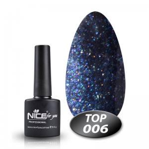 Топ с глиттером Glitter Top Nice 8.5g 006