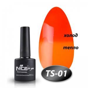 Термо гель-лак Nice 8мл TS01