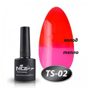 Термо гель-лак Nice 8мл TS02