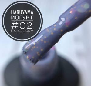 Гель-лак Haruyama Йогурт 02