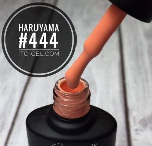 Гель-лак Haruyama Классика №444, персиковый, 8 мл