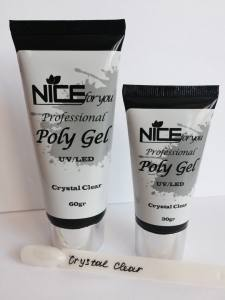 Полигель PolyGel  NICE for you 30г Crystal Clear