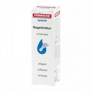 Настойка с клотримазолом и маслом жожоба для  лечения грибковопораженных ногтей и кожи (Nageltinktur) PEDIBAEHR 30мл