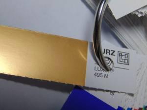 Фольга для литья матовое золото 1м