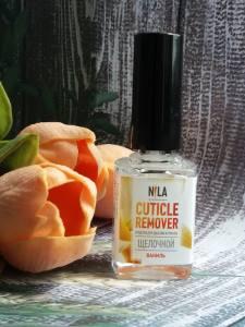 Nila Cuticle Remover  средство для удаления кутикулы ваниль 12мл