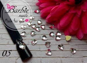 Стразы фигурные стекло BarbieNails 1шт №5