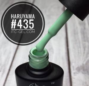 Гель-лак Haruyama Классика №435, бледно-зеленый, 8 мл