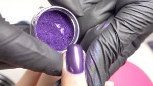 Втирка хром Violet (фиолетовая) 1г