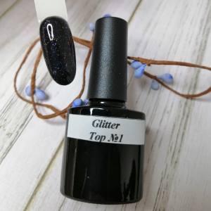 Топ с глиттером Glitter Top №1 7мл фиолетовый хамелеон