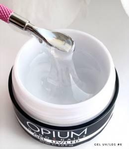 Гель моделирующий однофазный прозрачный №6 Opium Prof