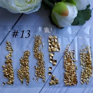 Металлический декор для ногтей в упаковке Barbie Nails №13