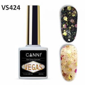 Гель-лак CANNI VEGAS 424 розово-золото 7,3 ml