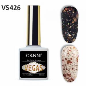 Гель-лак CANNI VEGAS 426 кораллово-золотой 7,3 ml