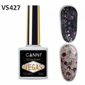 Гель-лак CANNI VEGAS 427 фуксия-золото 7,3 ml