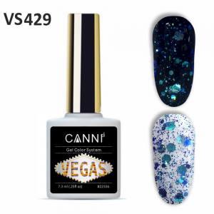Гель-лак CANNI VEGAS 429 сине-бирюзовый 7,3 ml