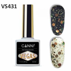 Гель-лак CANNI VEGAS 431 зелено-коралловый 7,3 ml