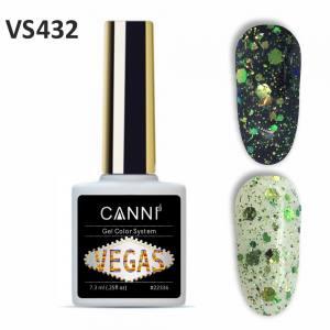 Гель-лак CANNI VEGAS 432 зелено-изумрудный 7,3 ml
