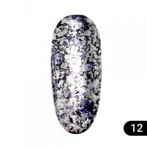 Втирка для ногтей Global Fashion Diamond foil 12