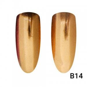 Втирка для ногтей Global Fashion, Mirror Copper B14