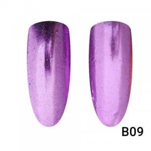 Втирка для ногтей Global Fashion, Mirror Pink B09