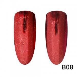 Втирка для ногтей Global Fashion, Mirror Red B08