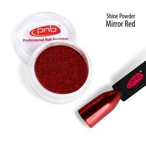 Зеркальная втирка PNB, красная