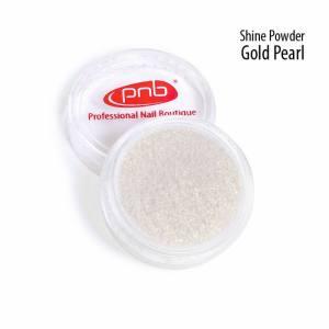 Втирка-блеск PNB Powder Shine Gold Pearl Золотой жемчуг