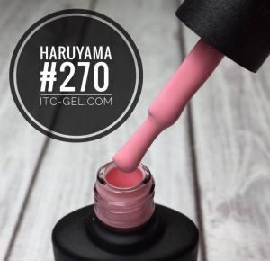 Гель-лак Haruyama Классика №270, пастельный розовый, 8 мл