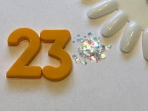 Декор для дизайна в баночке Brilliant Crystal №23